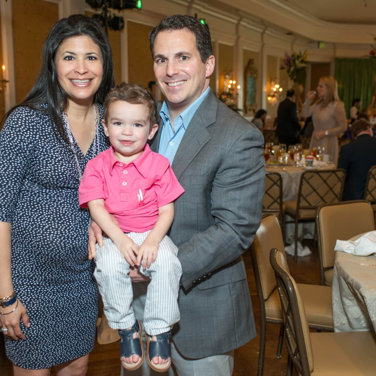 Houston Symphony Children's Fashion Show, March 2016, Kristy Brardshaw, Preston Bradshaw, Chris Bradshaw