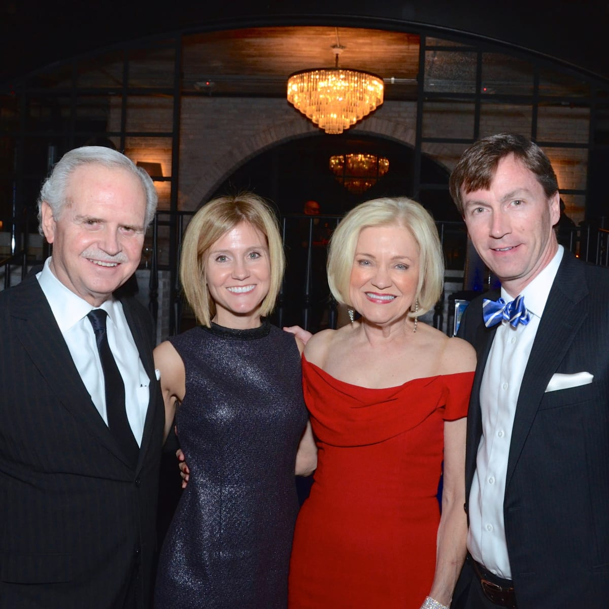 Underwriting Chairman Jim Furr, Erin Stimming, Underwriting Chairman Jo Furr, Chris Stimming at Stages Gala