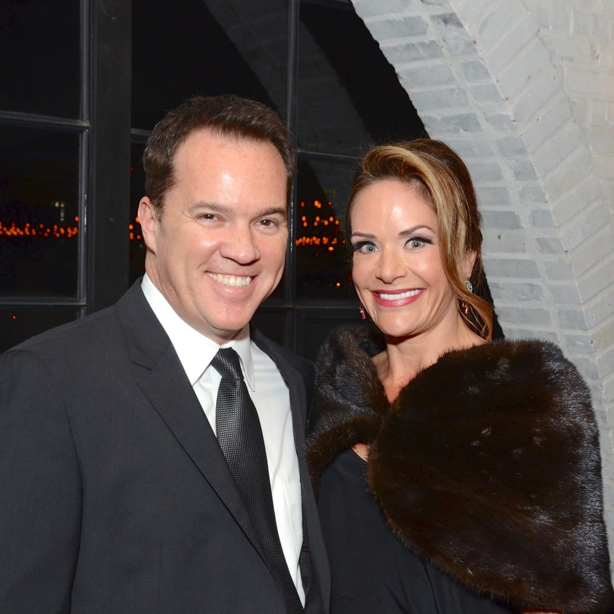 Entertainment Co-Chairmen Rob Rutherford and Mauney Mafrige at Stages Gala