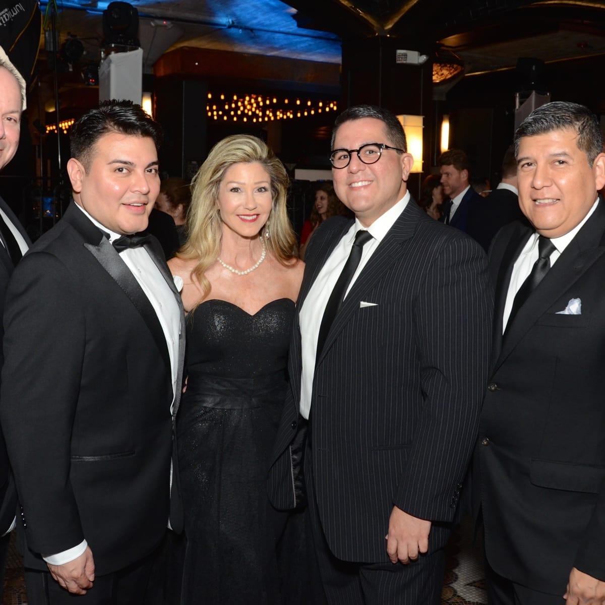 Scott Miller, Edward Sanchez, Patti Murphy, Roland Maldonado, Raul Diaz at Stages Gala
