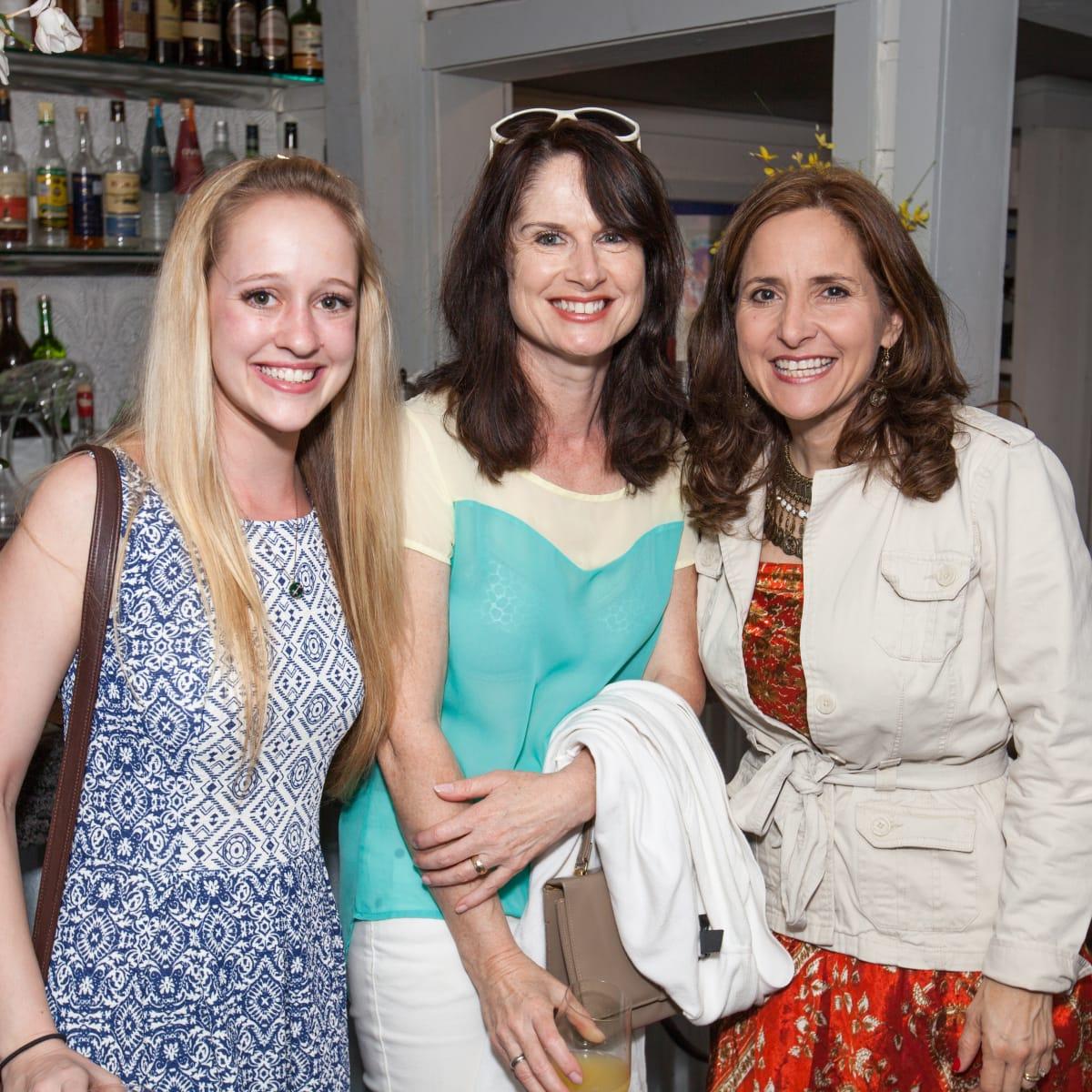 Durham House brunch, March 2016, Katherine Diorschke, Caroline Miner, Carol Salva