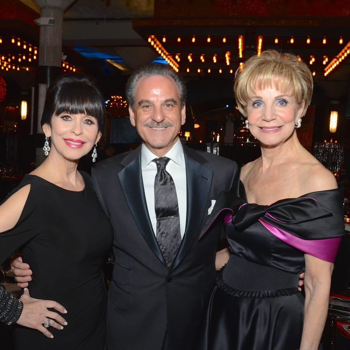 Sandra Porter, Rudy Festari, Leisa Holland-Nelson at Stages Gala