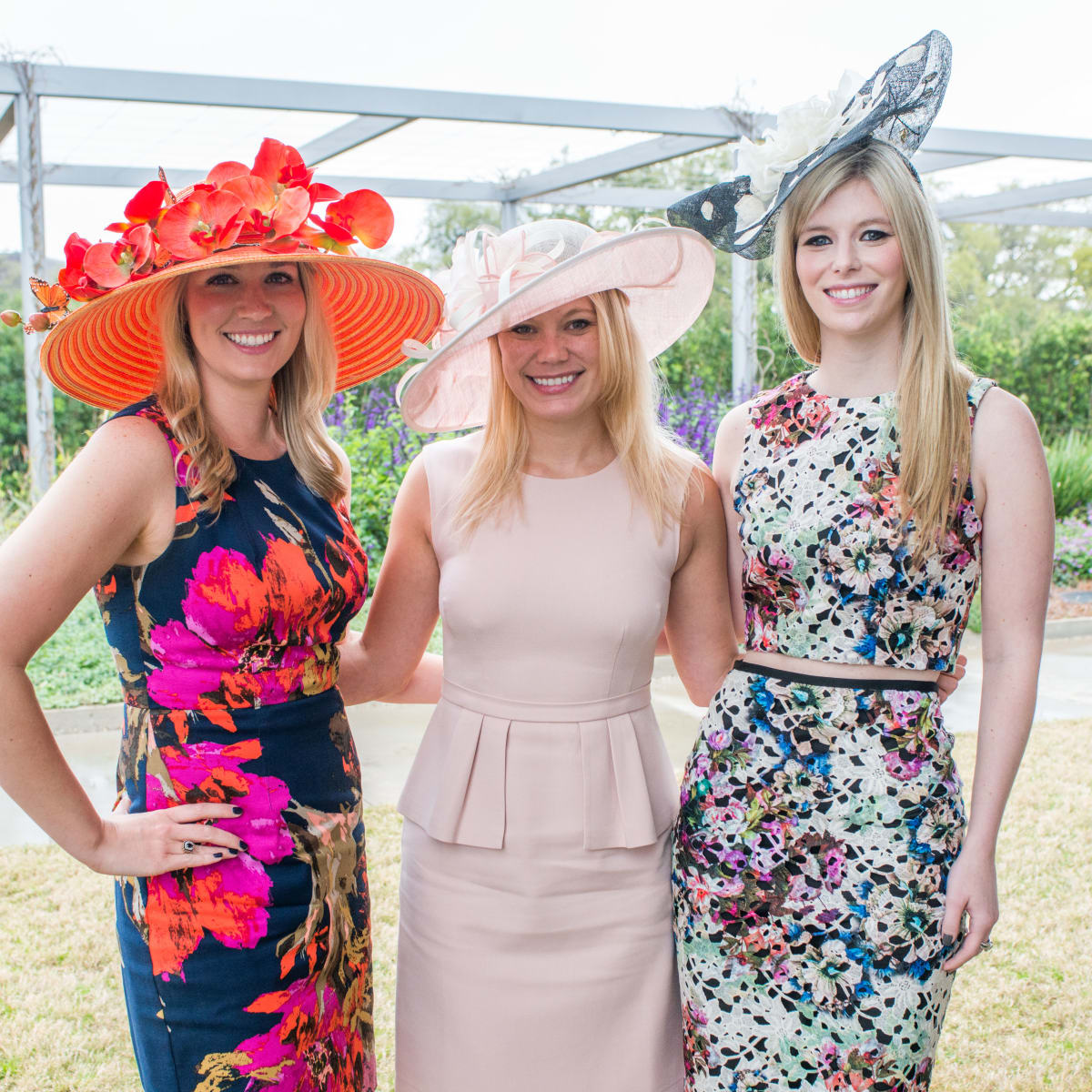 Hats in the park, March 2016, Christina Stith, Carolyn Chachere, Kimberly Falgout