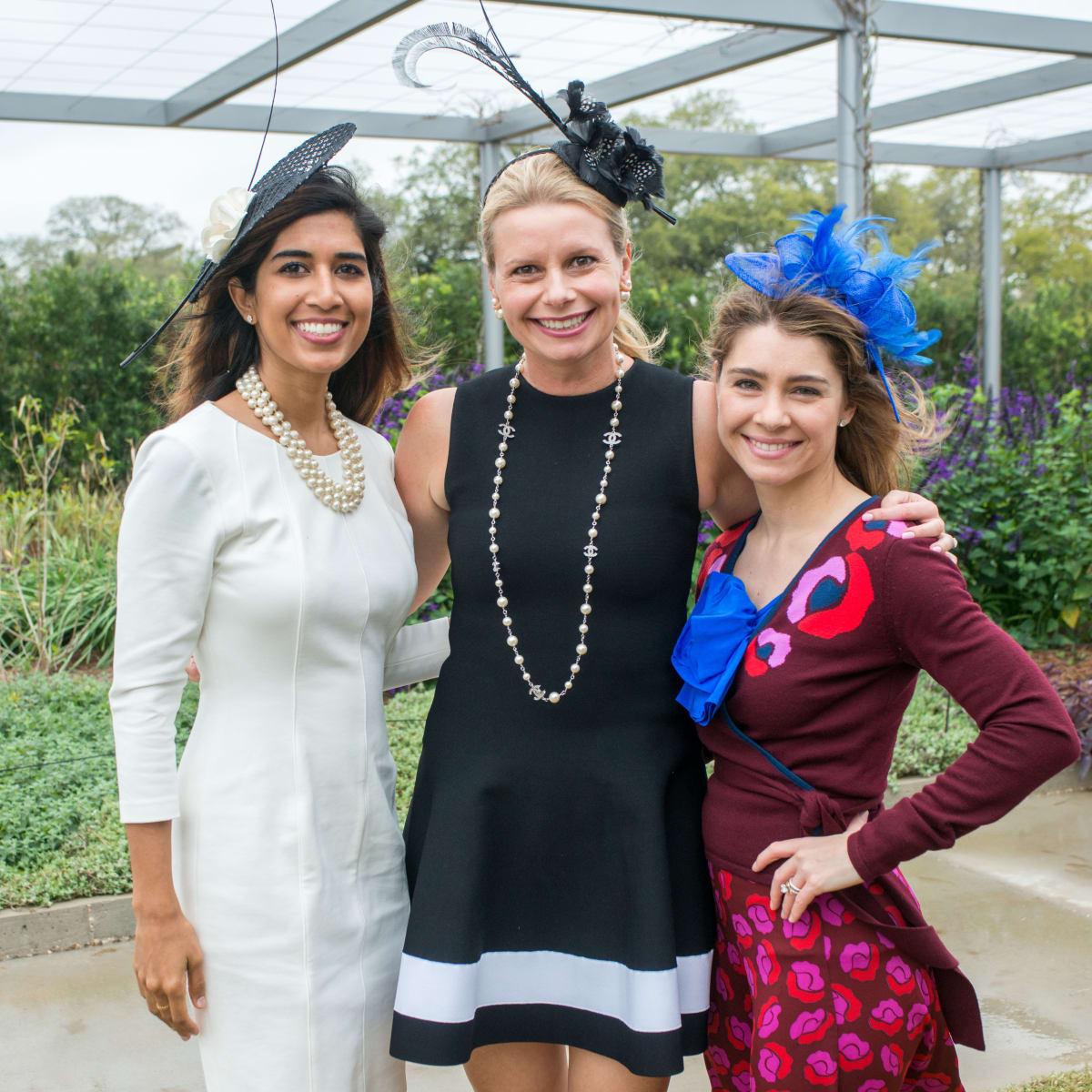 Hats in the Park, March 2016, Divya Brown, Valerie Dieterich, Rachel Volz