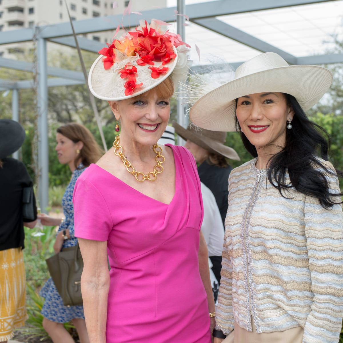 Hats in the Park, March 2016, Gracie Cavnar, Y. Ping Sun