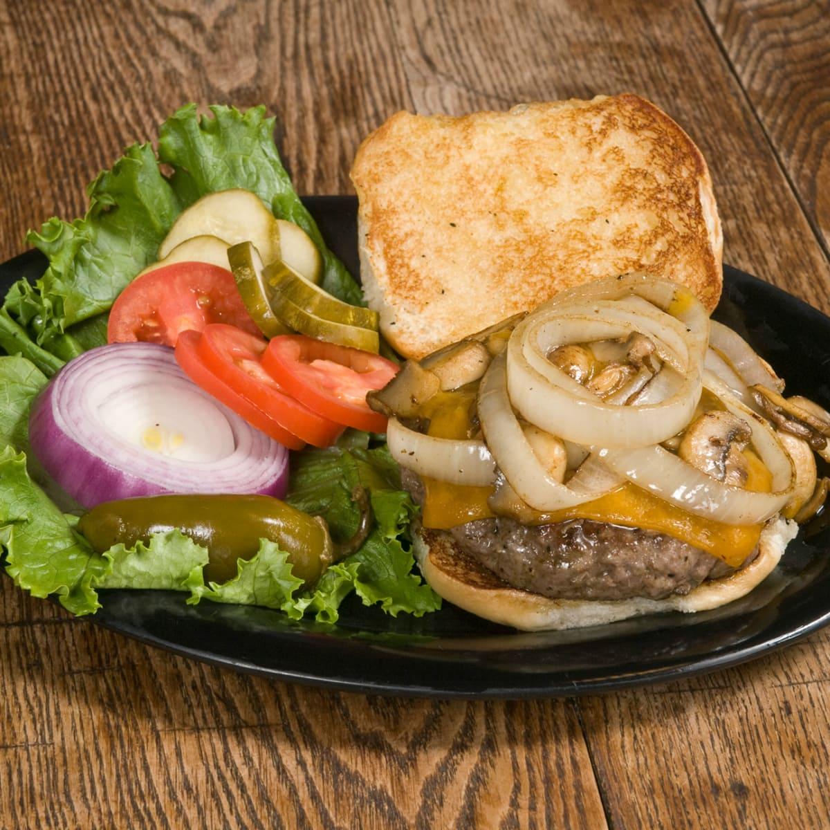 Perini Ranch Steakhouse burger