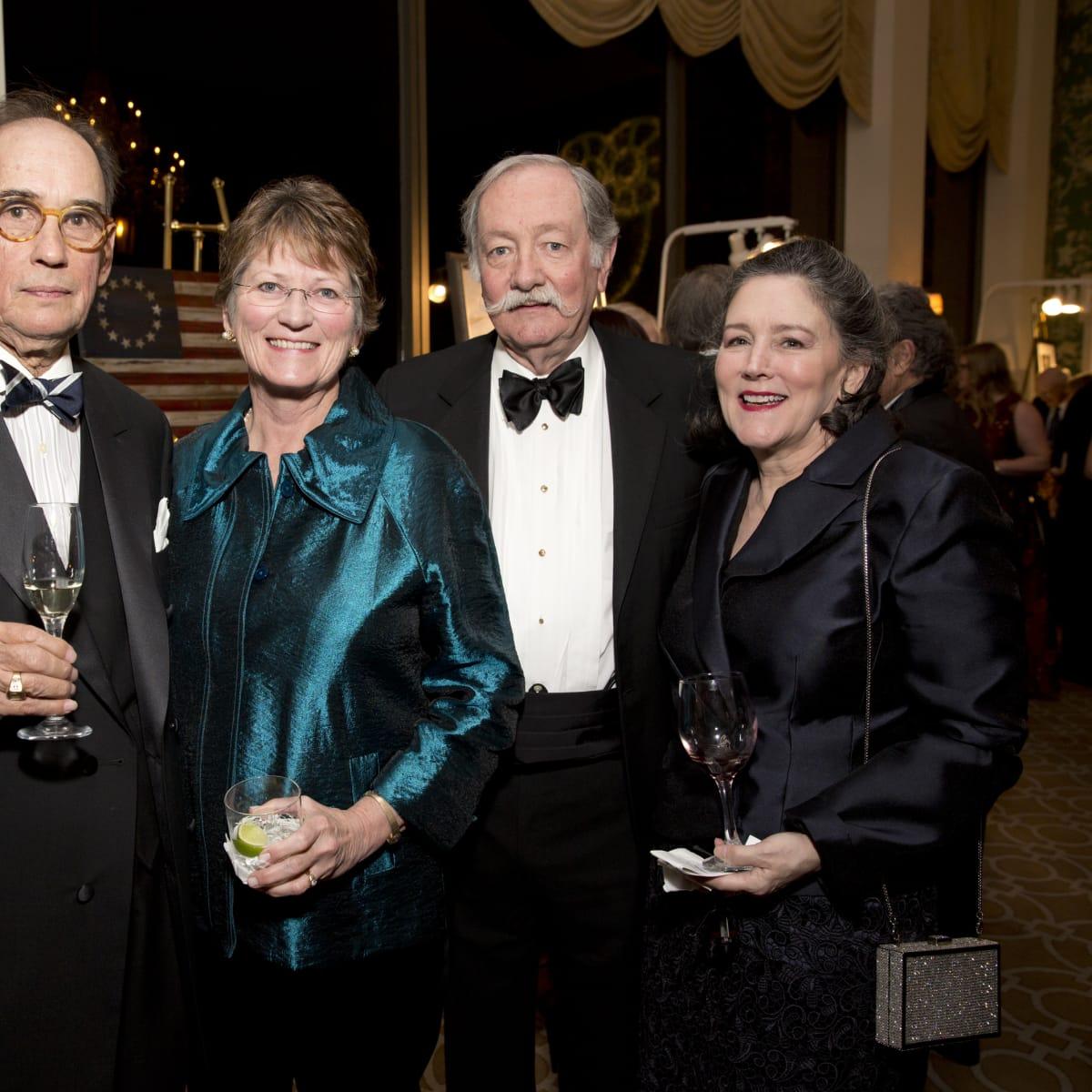 Friends of Fondren Library, Feb. 2016, Guy Jackson, Dr. Julie Boom, Dr. Marc Boom, Clare Jackson