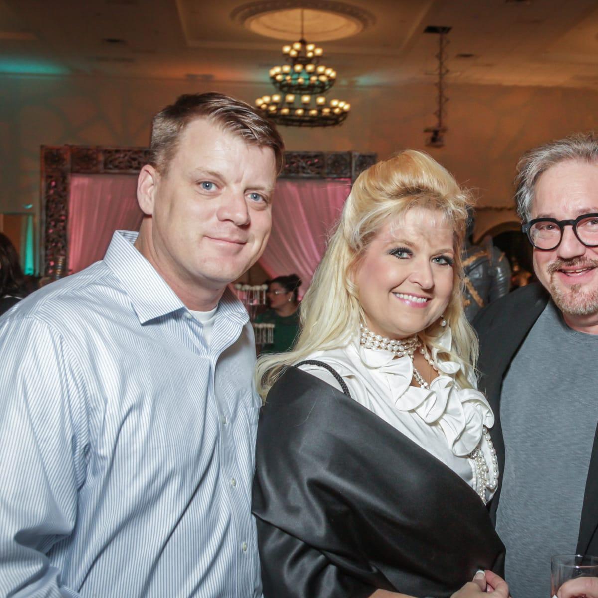 Houston, Social Book 2016 Launch Party, January 2016, Leonard Ledford, Michelle Maresh, Thom Anderson