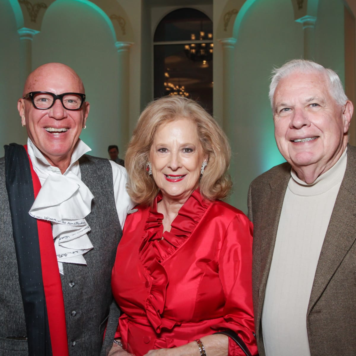 Houston, Social Book 2016 Launch Party, January 2016, Kelly Gale Amen, Mary Ann McKeithan, David McKeithan