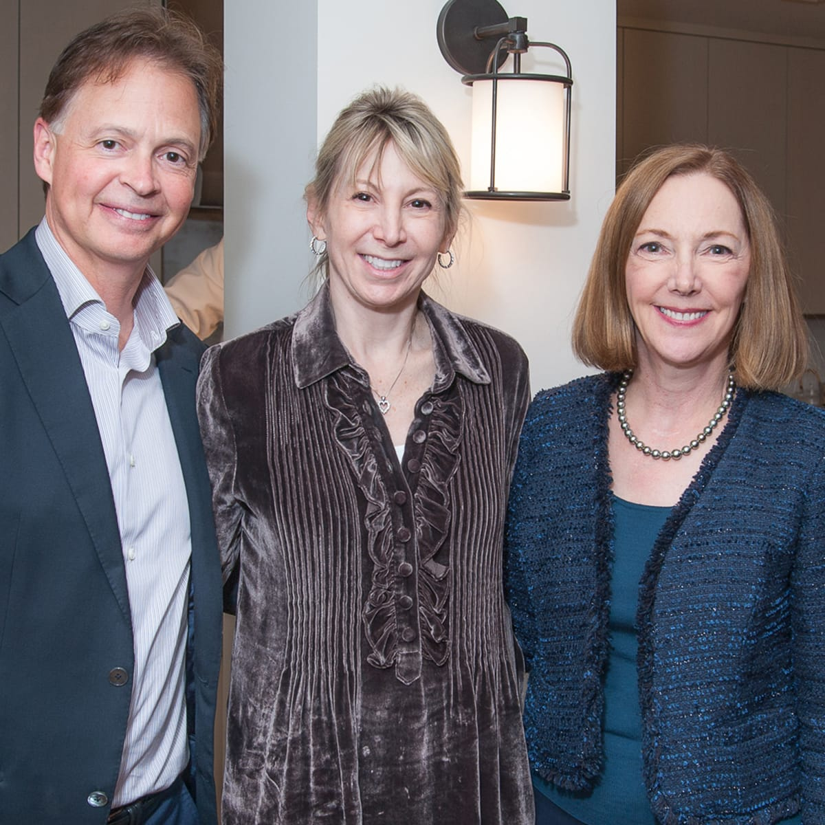 Houston, Da Camera VIP launch event for Sarah's Marcel Proust Project, Rob and Carla Leslie, Nancy Bratic