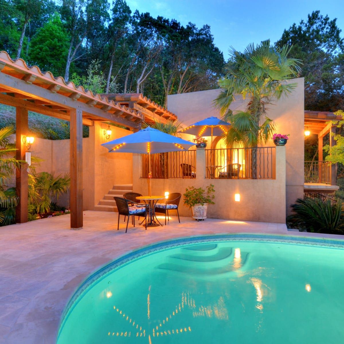 1516 Wild Cat Hollow Austin home house West Lake Hills 2015 pool guest house