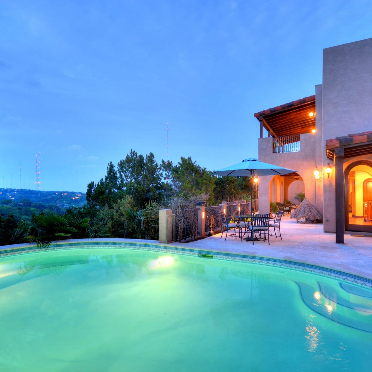1516 Wild Cat Hollow Austin home house West Lake Hills 2015 pool hill country view