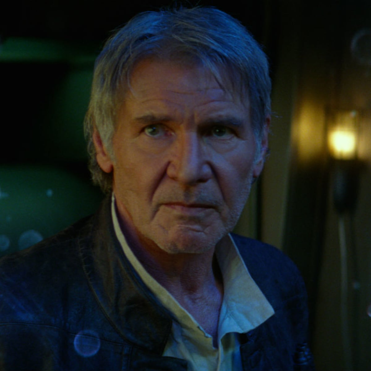 Harrison Ford in Star Wars: The Force Awakens