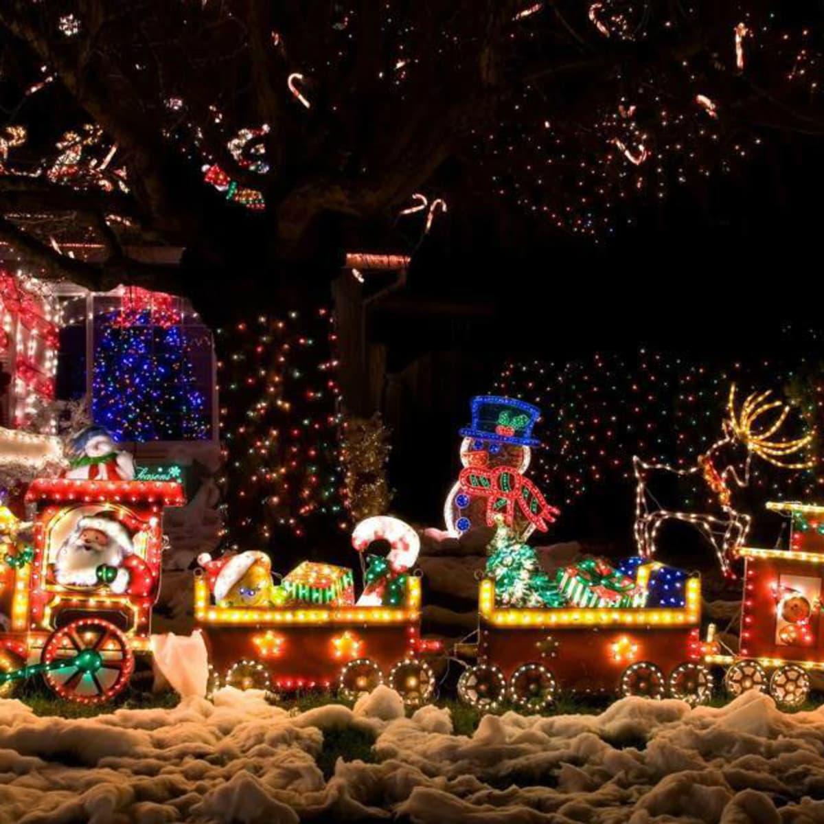 Best Holiday Light Displays In San Antonio, Austin