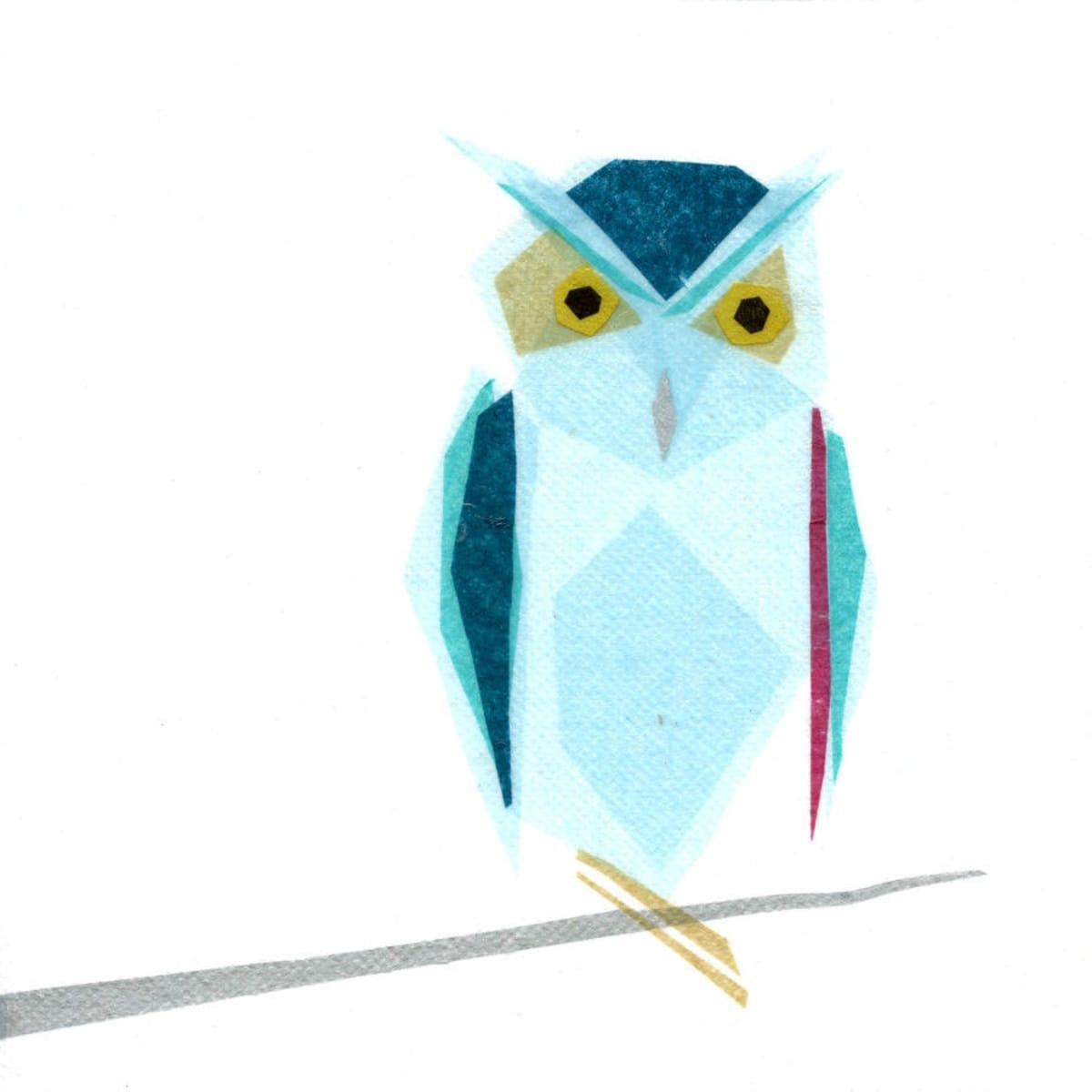 Tiny Fawn Omar Owl print at West Elm