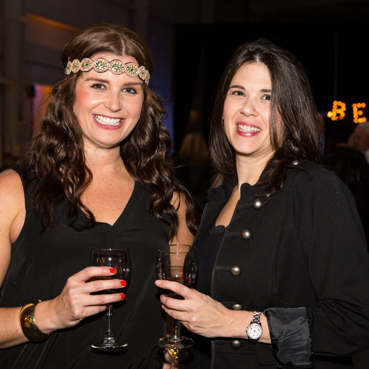 News, Beaujolais Nouveau Festival, Nov. 2015, Angelica Toupard and Kate Wassenberg