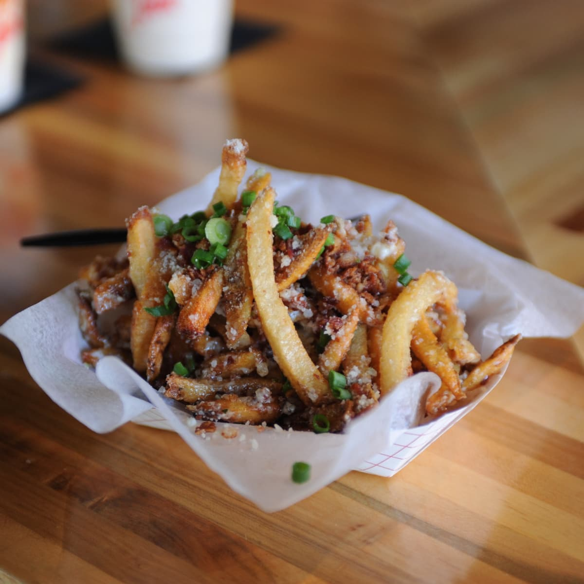 The Burger Joint bacon fries