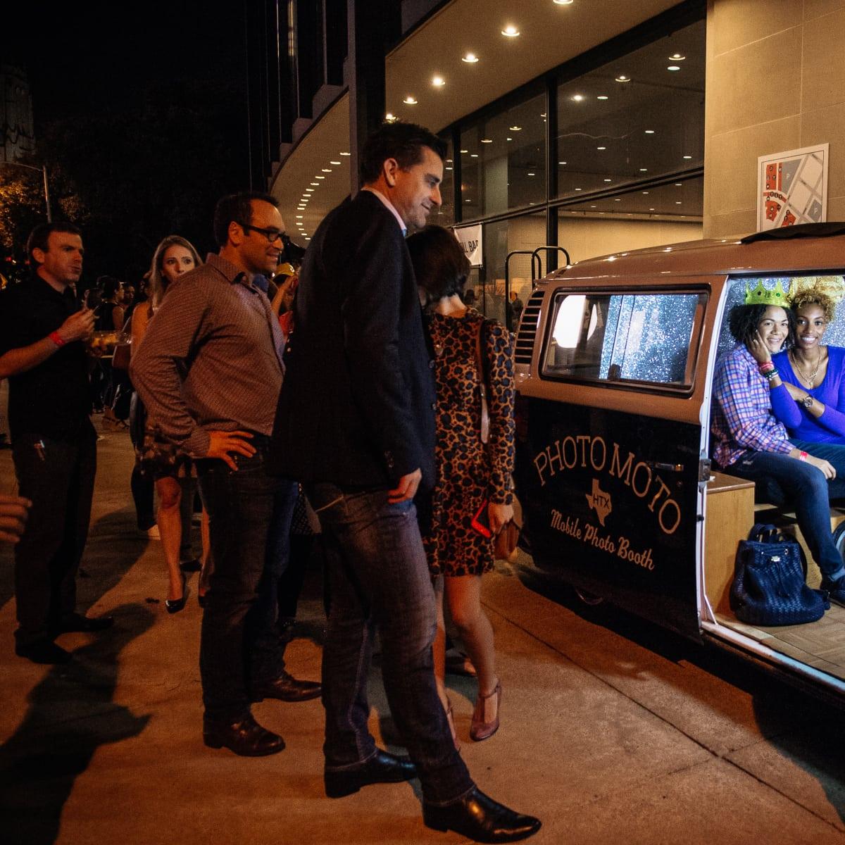 News, Shelby, MFAH Mixed Media, Oct. 2015, Photo Moto photo booth