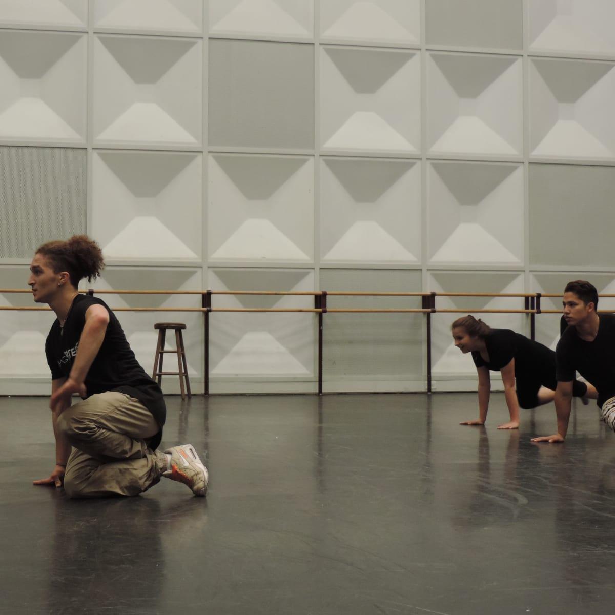 Flying Bach dance class