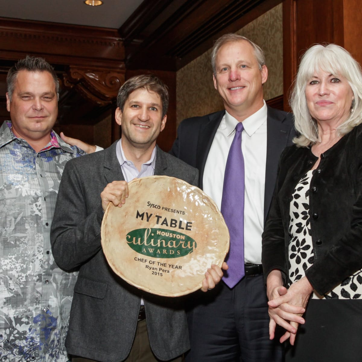 Houston Culinary Awards 2015 Ronnie Killen Ryan Pera