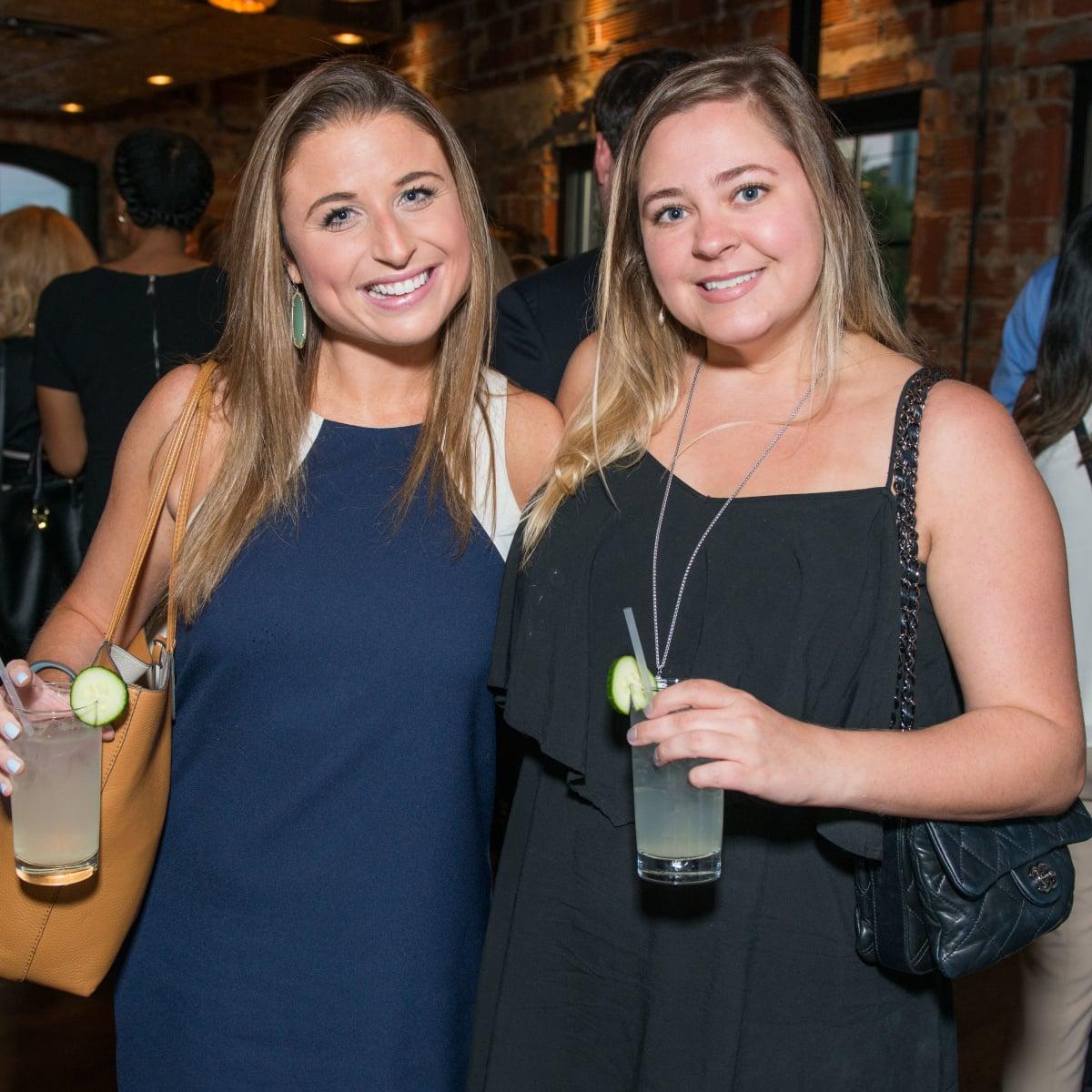 News, Shelby, CultureMap Social, B&B Butchers, Sept. 2015 Megan Lesser, Natalie Burrows