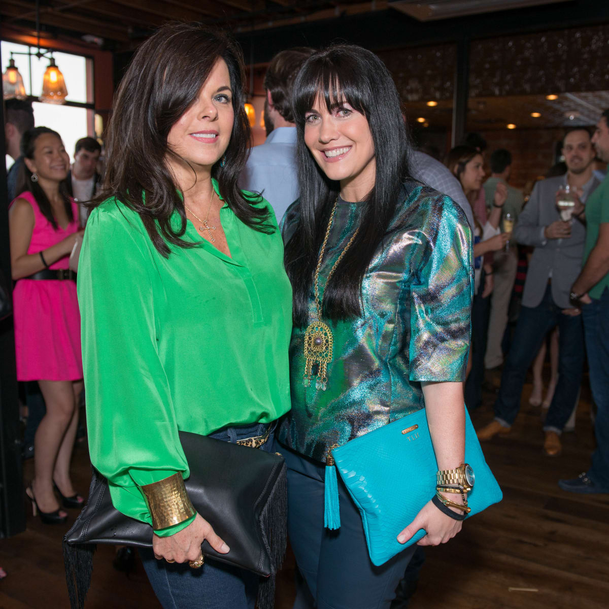 News, CultureMap Social, B&B Butchers, Sept. 2015 Julianna Montealegre, Tiffany Halik