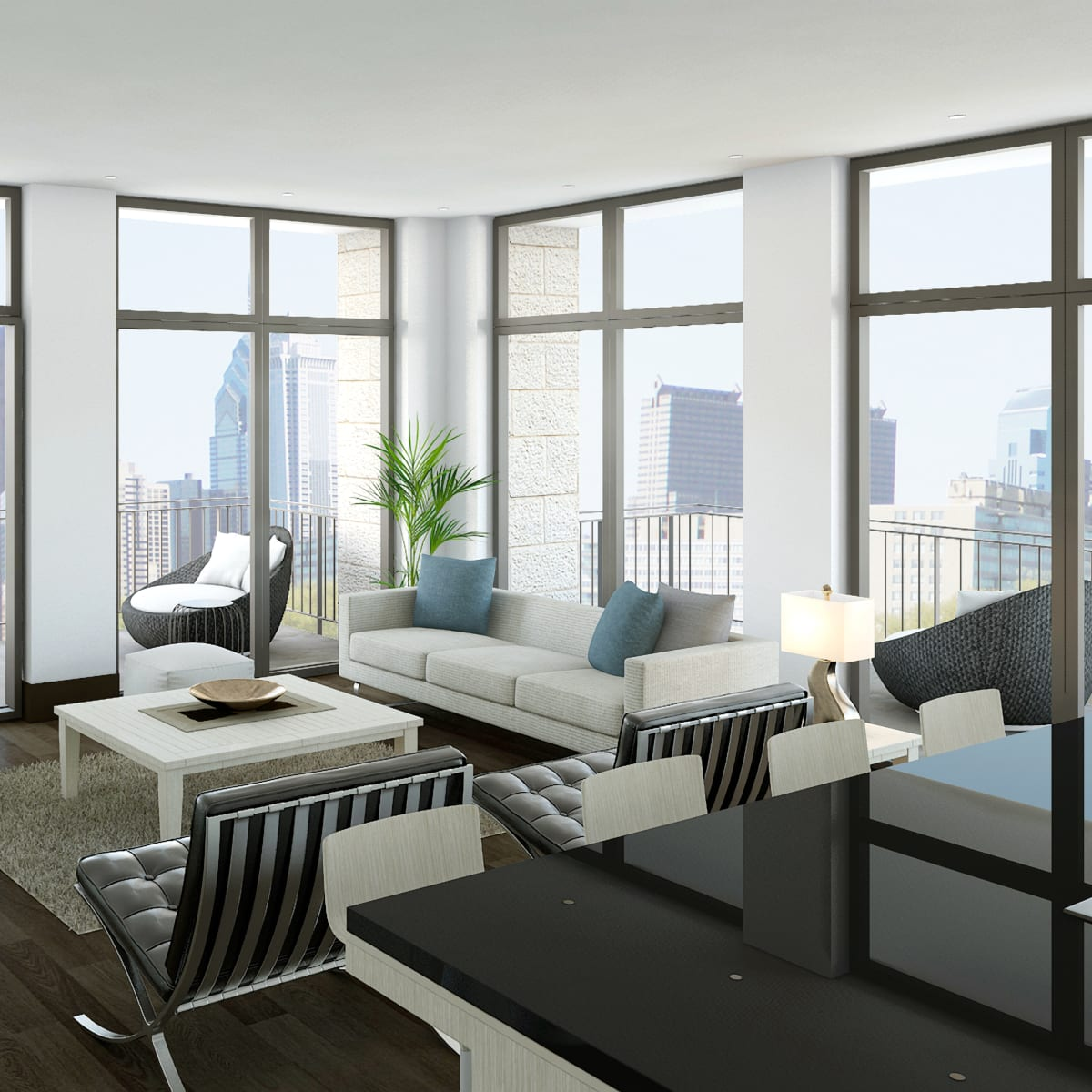 Houston, Urban Flats Condos_August 2015, great room