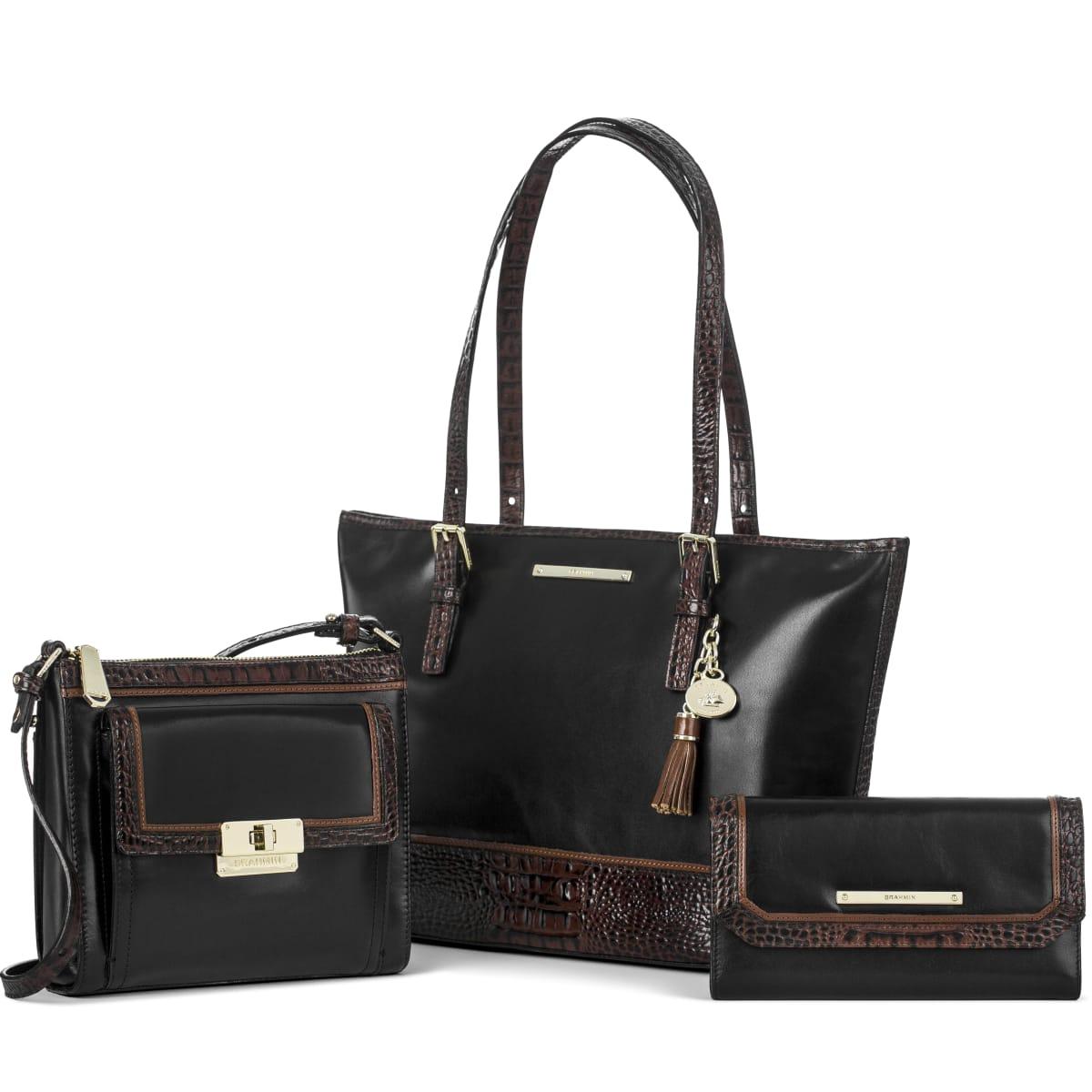 Brahmin Tri-texture handbag at Dillard's