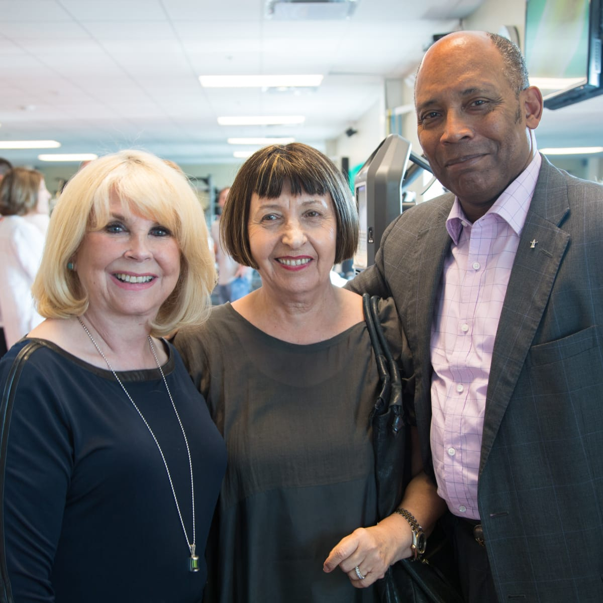 News, Shelby, Luv Ya Blue party, August 2015, Sally Bradford, Inge and Eric Potts