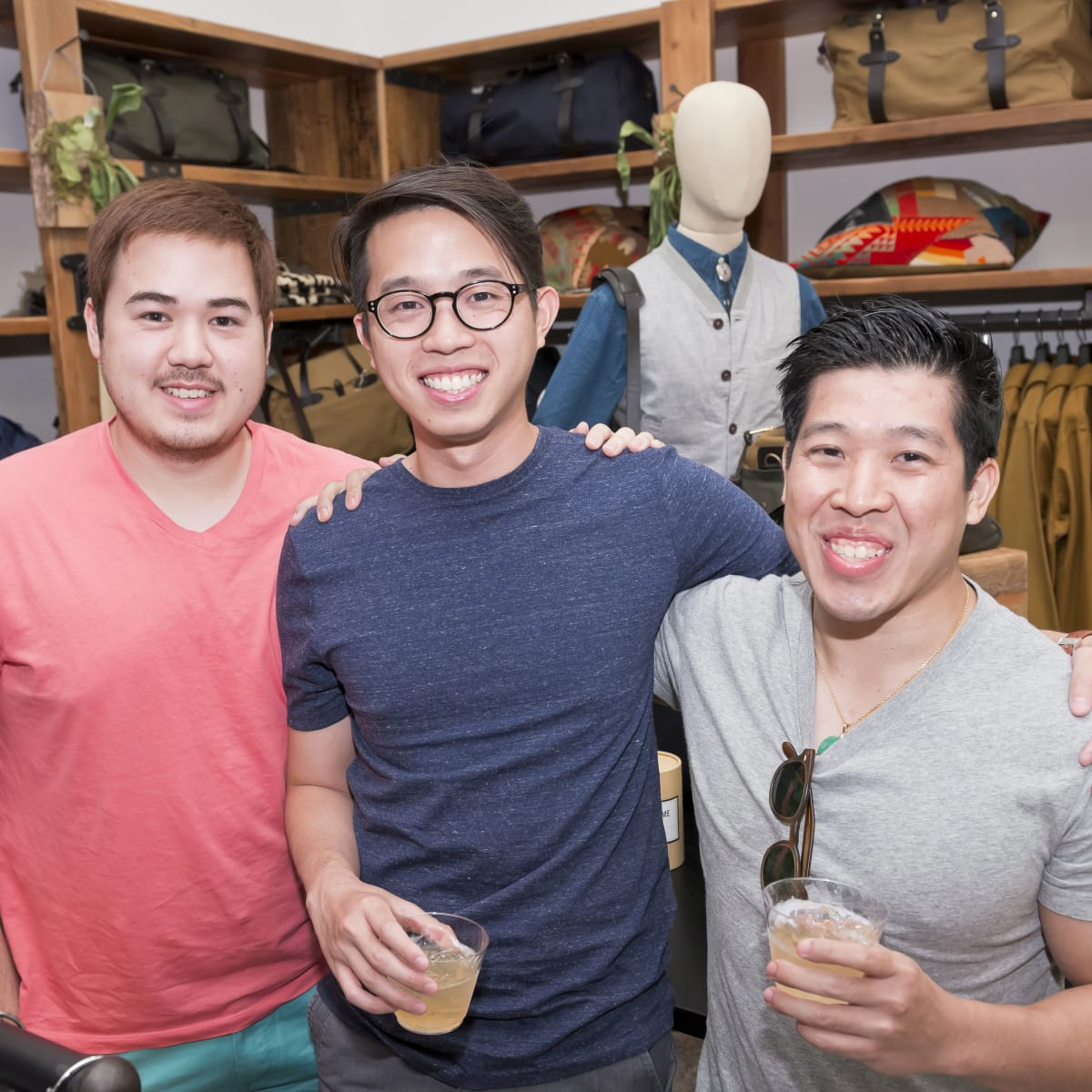 Houston, Stag Provisions opening party, June 2015, Charlie White, Danny Le, Tommy Lo