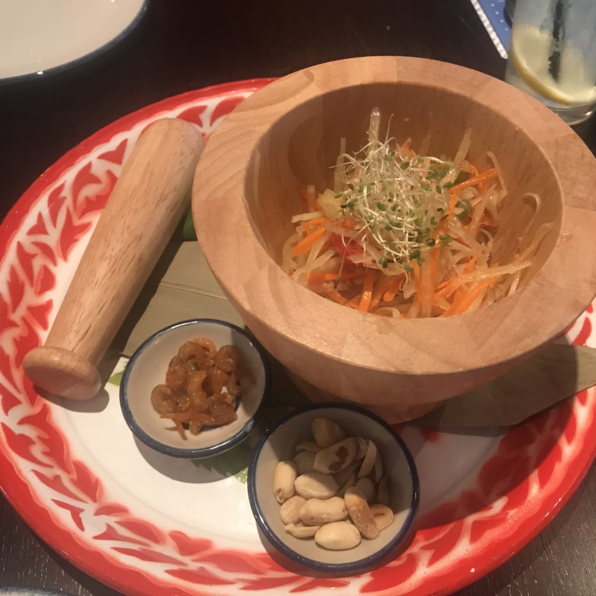 Rim Tanon papaya salad