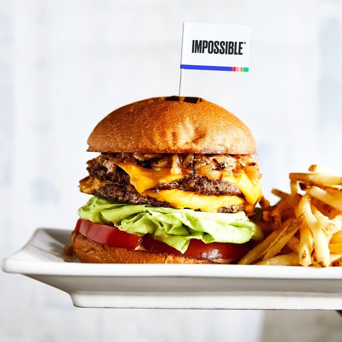 Umami Burger Impossible Burger