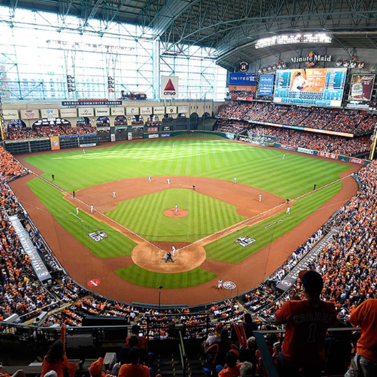 Houston, dollar hot dog night at Houston Astros, minute maid park