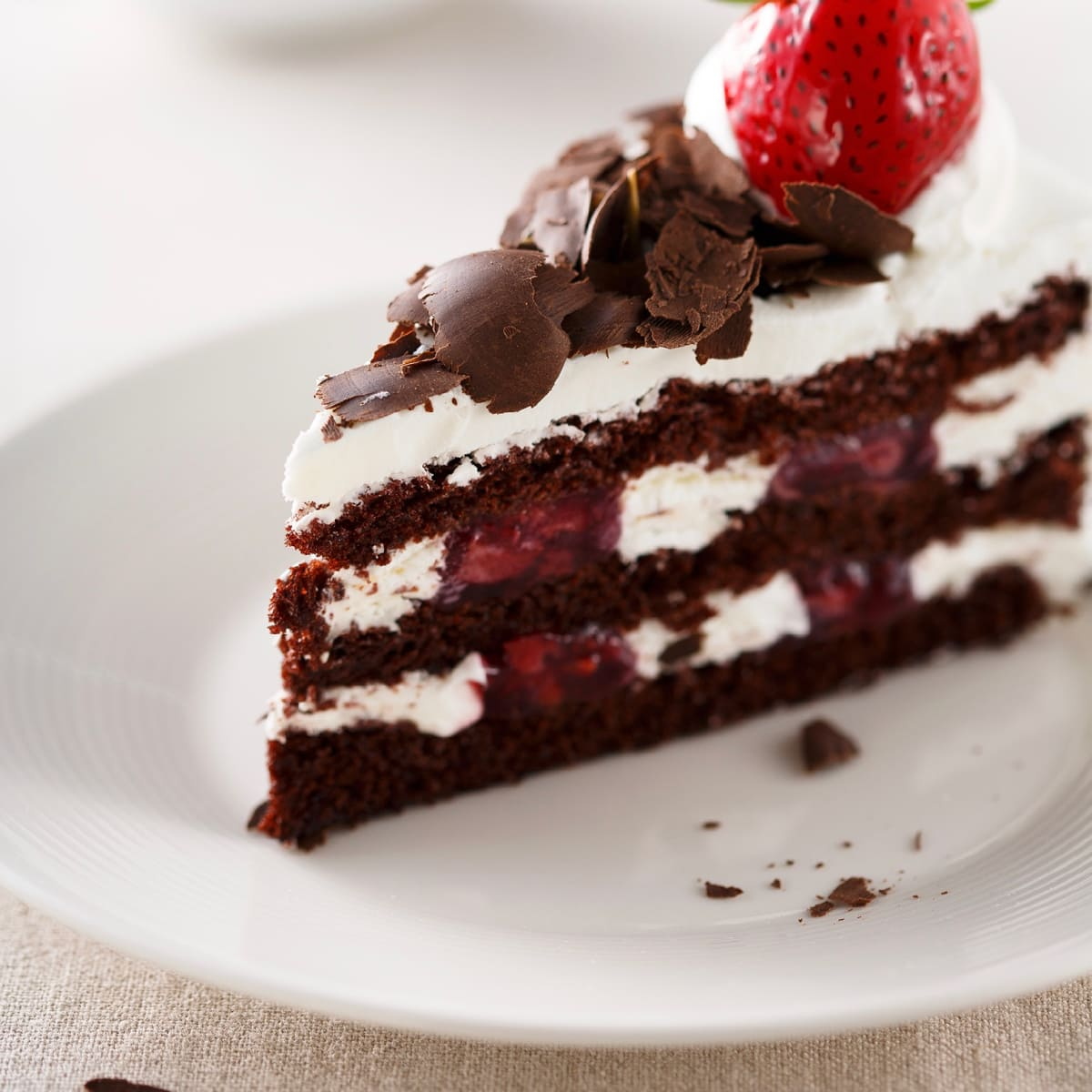 85C Bakery Cafe black forest cake