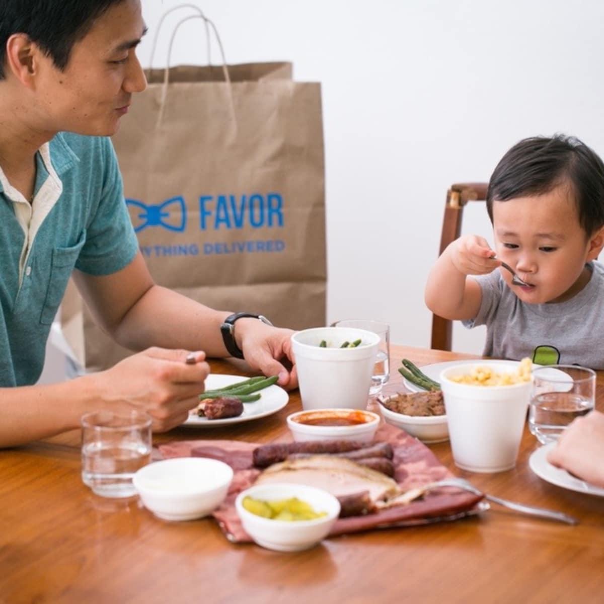 Favor delivery app customer