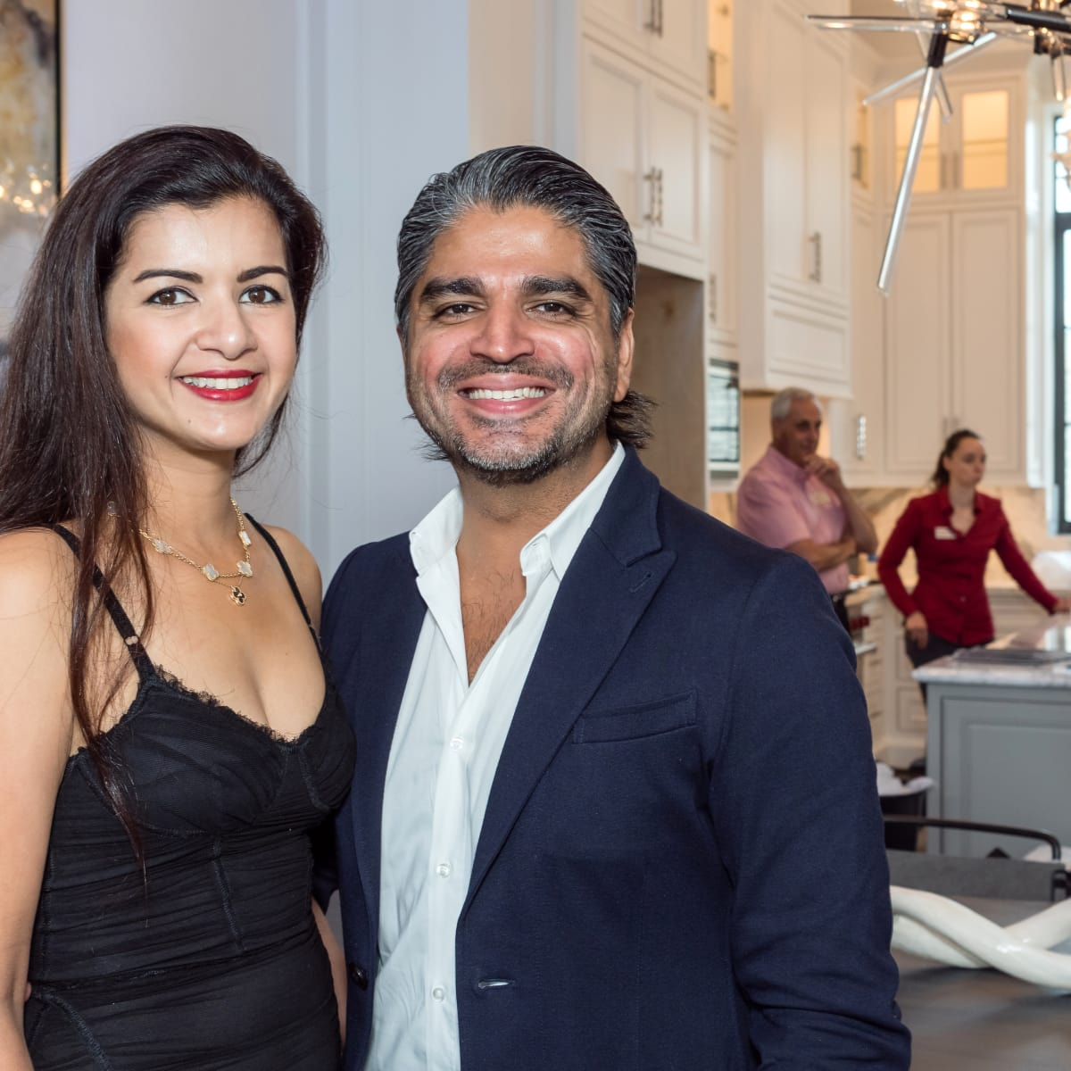 Houston, Carnegie Homes event, July 2017, Naureen Malik, Ahmad Malik