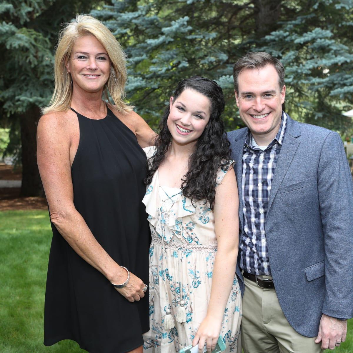 Kelly Hicks, Regan Hicks, Tadd Pullin at Hines MD Anderson Aspen