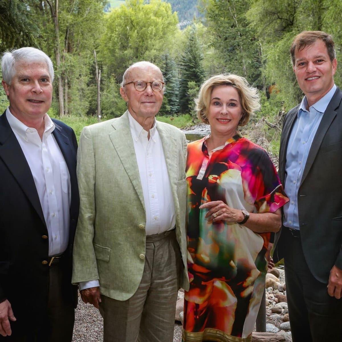 Dr. Marshall Hicks, Gerald Hines, Barbara Hines, Jim Ray at Aspen MD Anderson