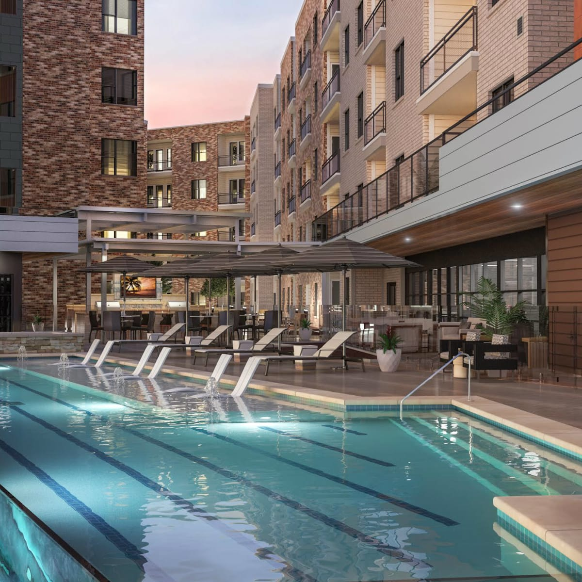 Overture Tanglewood apartments in Houston