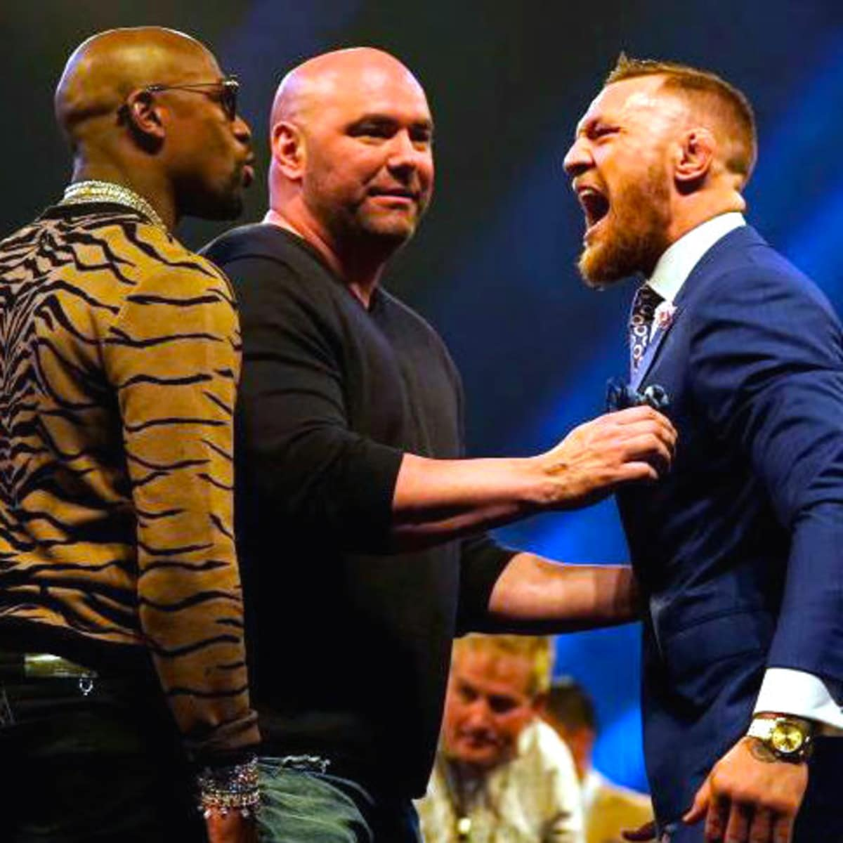 Houston, Floyd Mayweather and Conor McGregor, August 2017