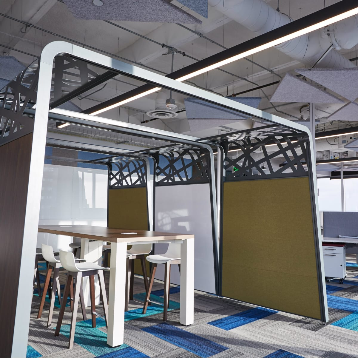 Google Austin office workspace