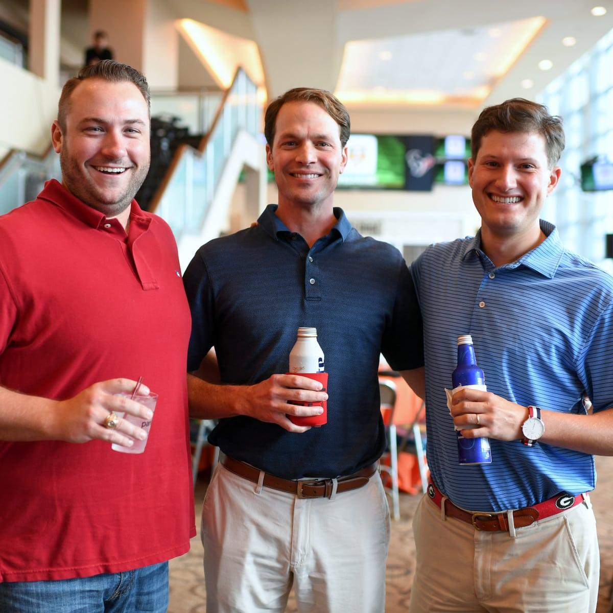 Houston, Boys and Girls Harbor Fantasy Football Draft Night, Steve Cannon, Brian Benoit, Matt Garza
