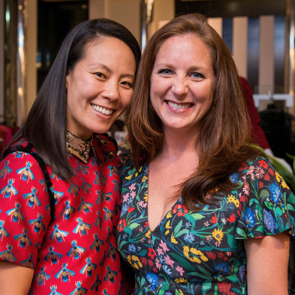 Ting Bresnahan, Lindsey Brown at Women of Distinction announcement party