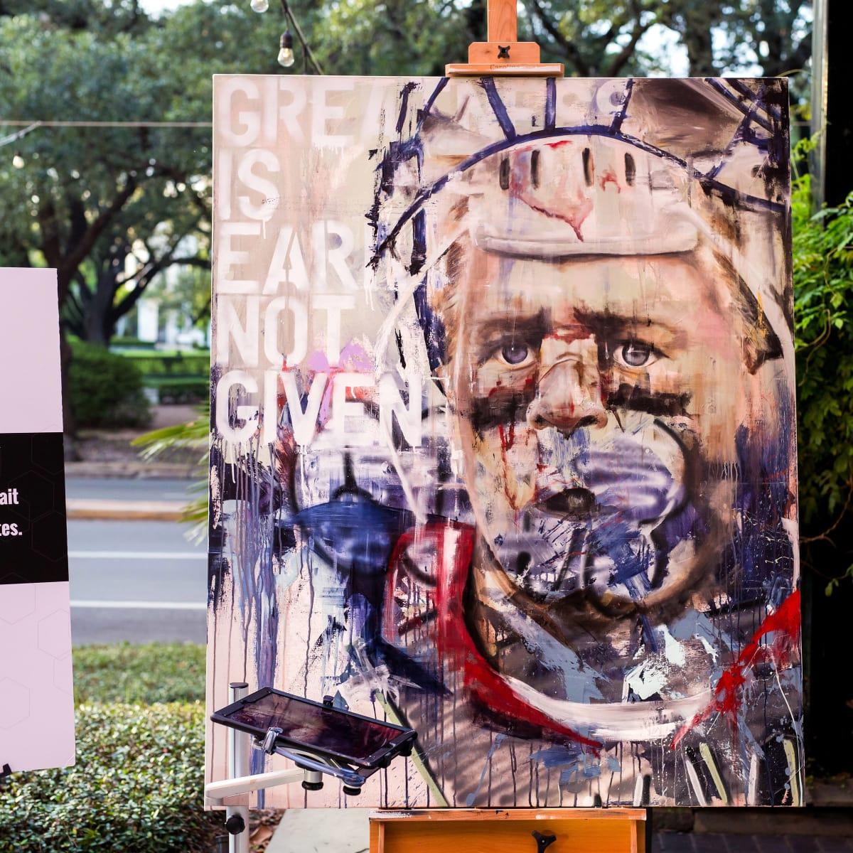 Houston, SportsMap launch party, October 2017, J.J. Watt by Franky Cardona