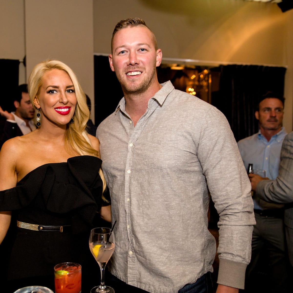 Houston, SportsMap launch party, October 2017, Robin Carlin, Kyle Martens