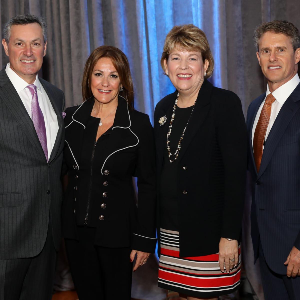 Houston, University of Texas at Austin Guardian of the Human Spirit Award Luncheon, November 2017, Gary Markowitz, Tali Blumrosen, Dr. Kelly J. Zúñiga, Eric Blumrosen