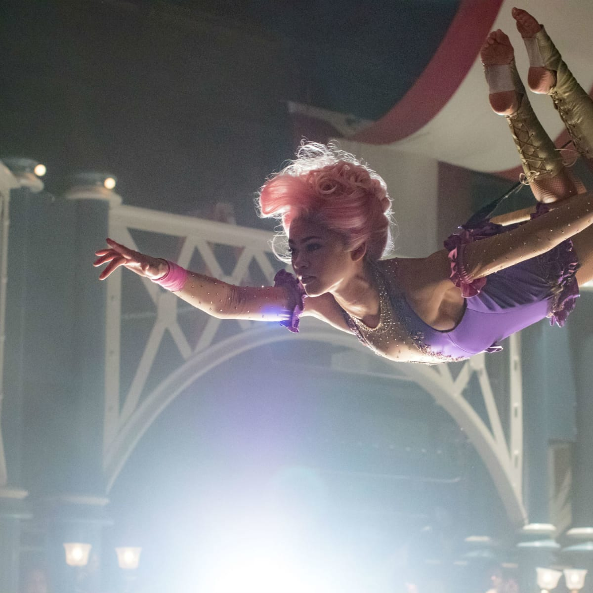 Zac Efron and Zendaya in The Greatest Showman