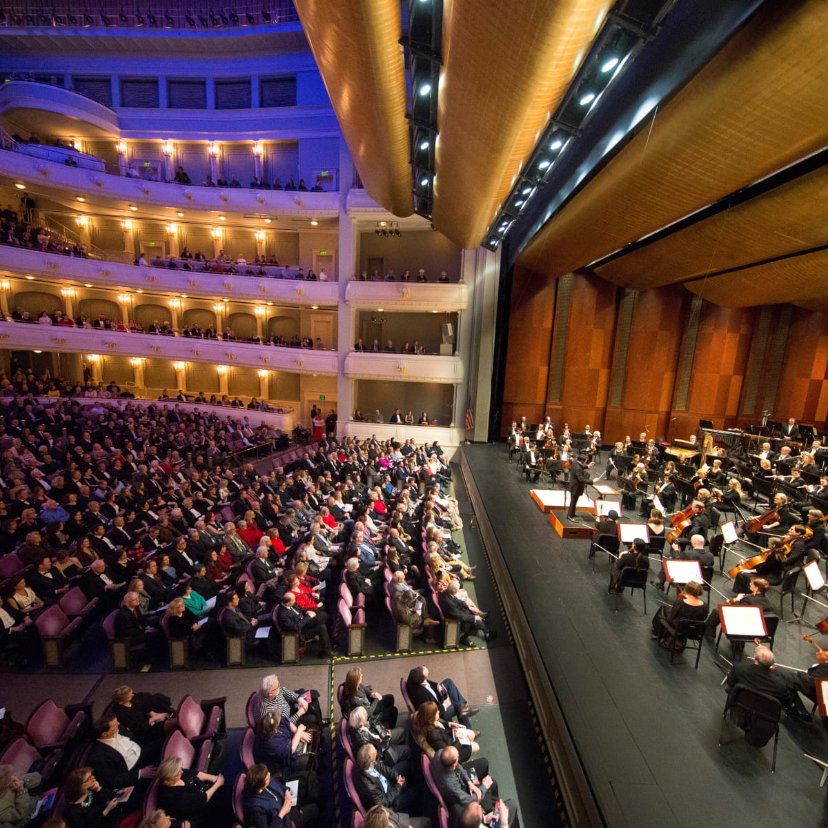 Fort Worth Symphony Orchestra, gala, Bass Hall