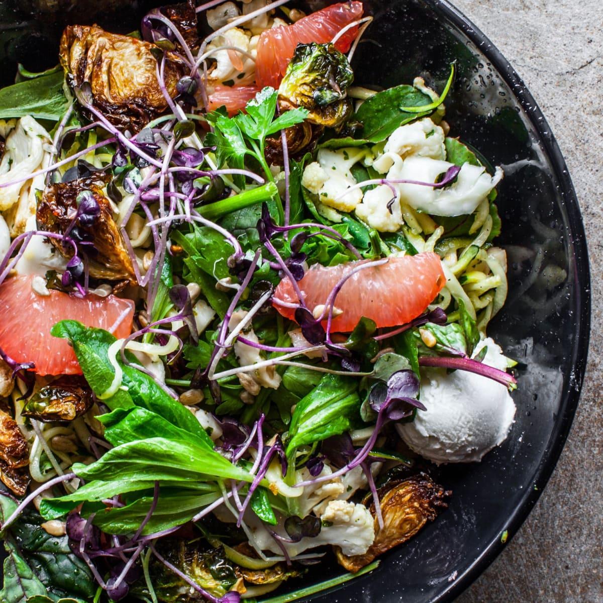 Local Foods spring harvest salad