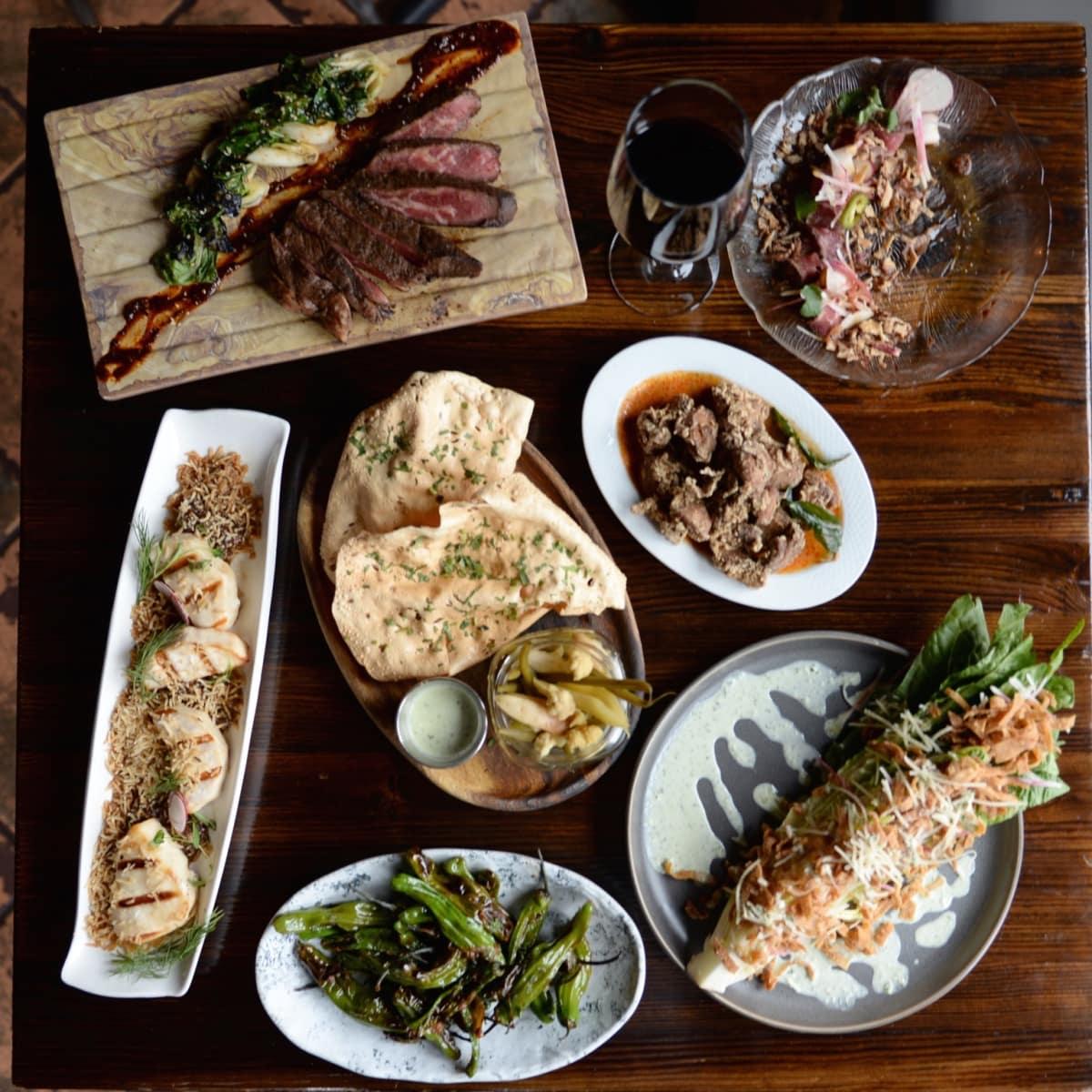 Ambrosia Happy Hour plates